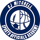 CJ Mitchell Sports Officials Academy Logo